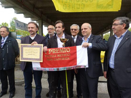 Grande Rassegna Bovini Piemontesi di Sottorazza Albese della Coscia 2017 ad Alba
