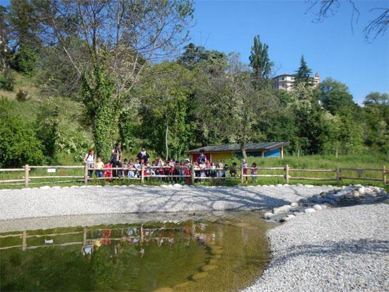 Cuneo_Casa-del-Fiume_laghetto