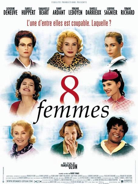8 femmes per Film français mon amour a Caraglio