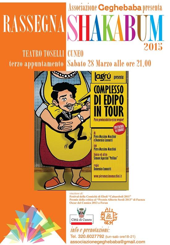 Complesso di Edipo in Tour! Puro provincialotto extra-vergine! a Cuneo