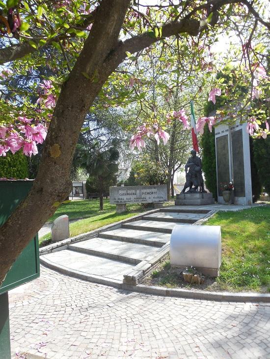 Celebrazione del 25 Aprile 2015 a Caramagna Piemonte