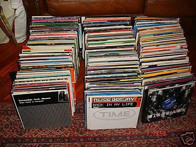 Compro dischi mix per dj in blocco o singolarmente - Porta dischi vinile ...