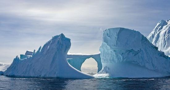 Antartide, continente di ghiaccio per Montagne di sera a Saluzzo