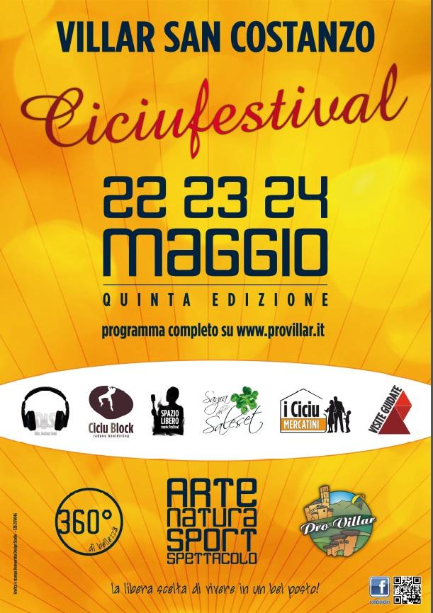 Ciciufestival 2015 a Villar San Costanzo