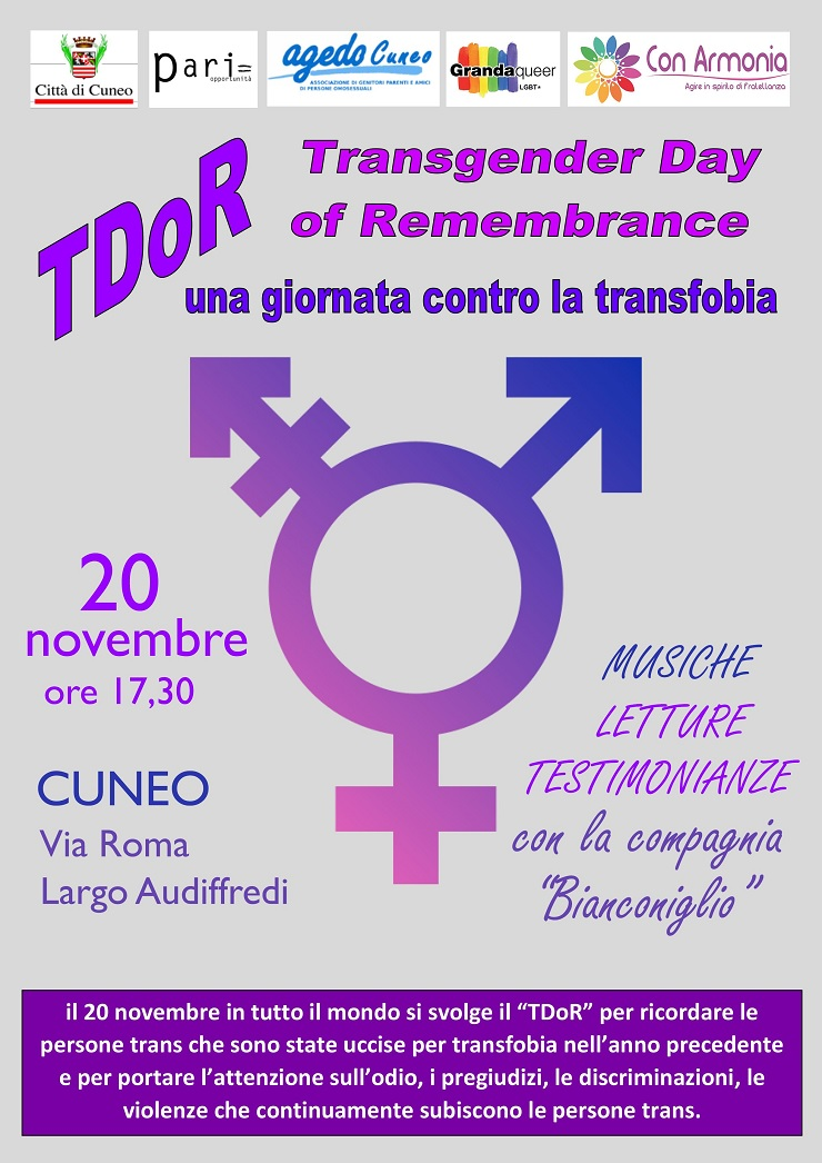 Iniziative per la Giornata contro la violenza sulle Donne 2015 a Cuneo