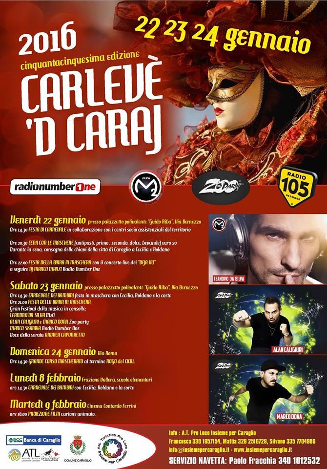 Carnevale di Caraglio 2016 - Carlevè 'd Caraj