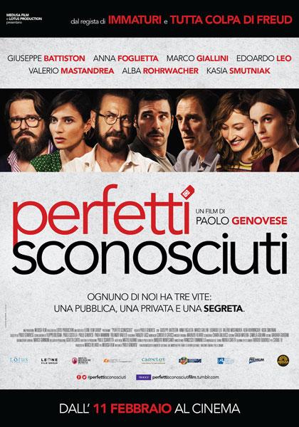 Perfetti sconosciuti al Cinema Monviso di Cuneo