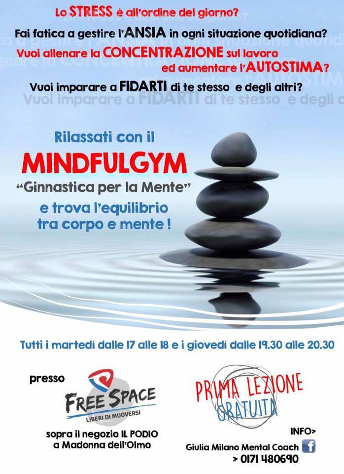 Mindfulgym con Giulia Milano a Cuneo