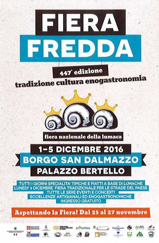 Fiera Fredda 2017 a Borgo San Dalmazzo
