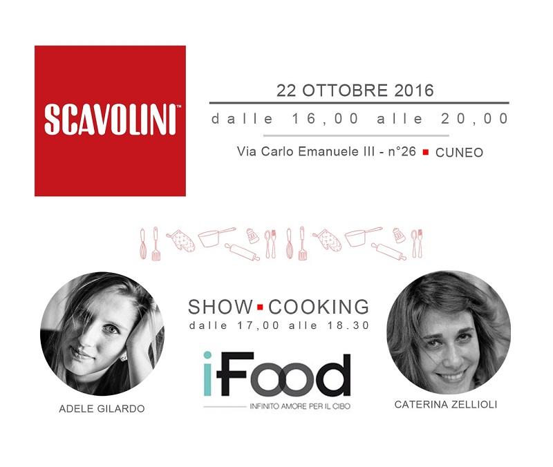 Show-cooking con iFood da Scavolini Store Cuneo