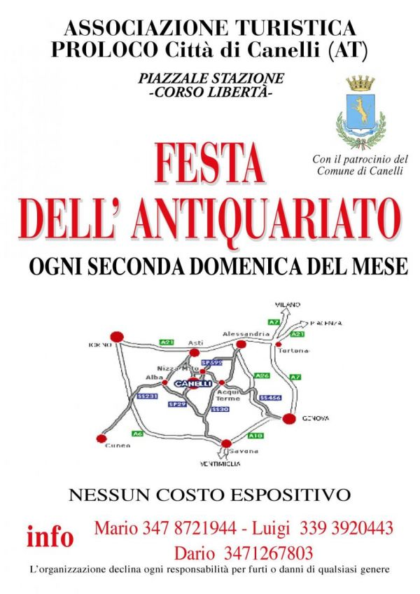 Festa dell'Antiquariato a Canelli