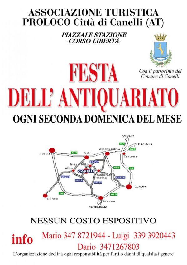 Festa dell'Antiquariato a Canelli