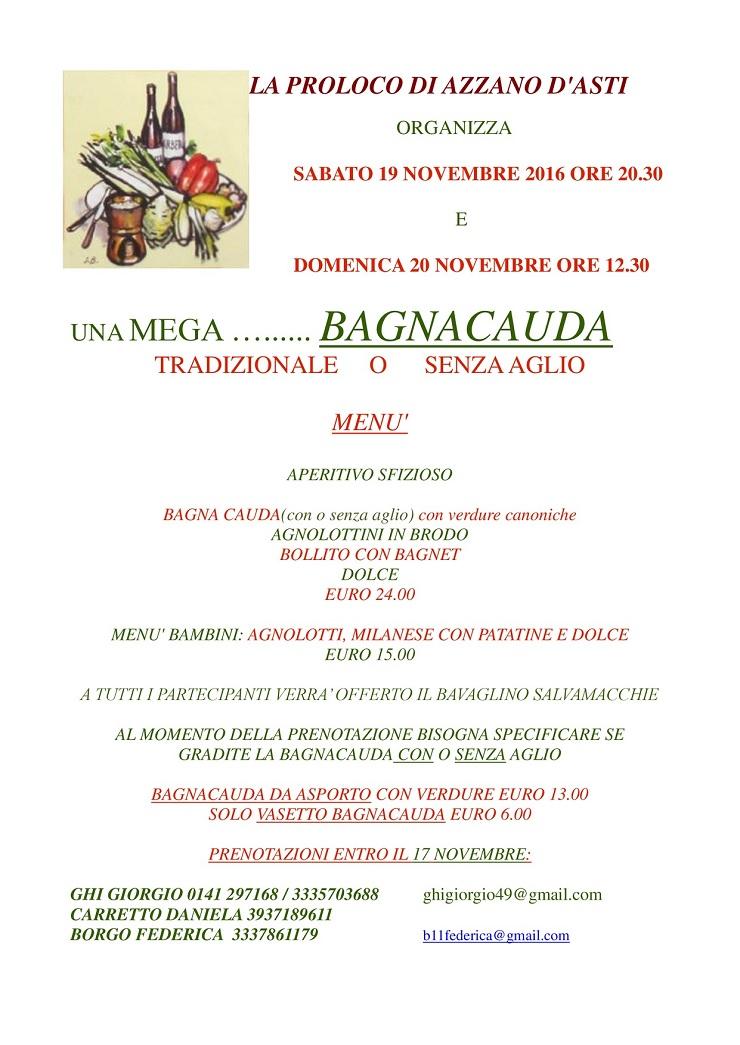 Mega Bagna Cauda ad Azzano d\'Asti