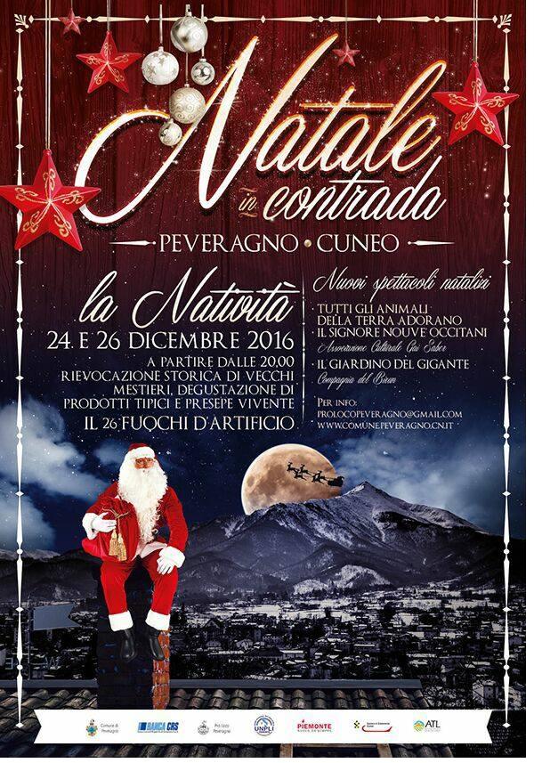 Natale in Contrada 2017 a Peveragno