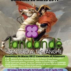 Sentiero Landandè 25 e 26  Marzo 2017