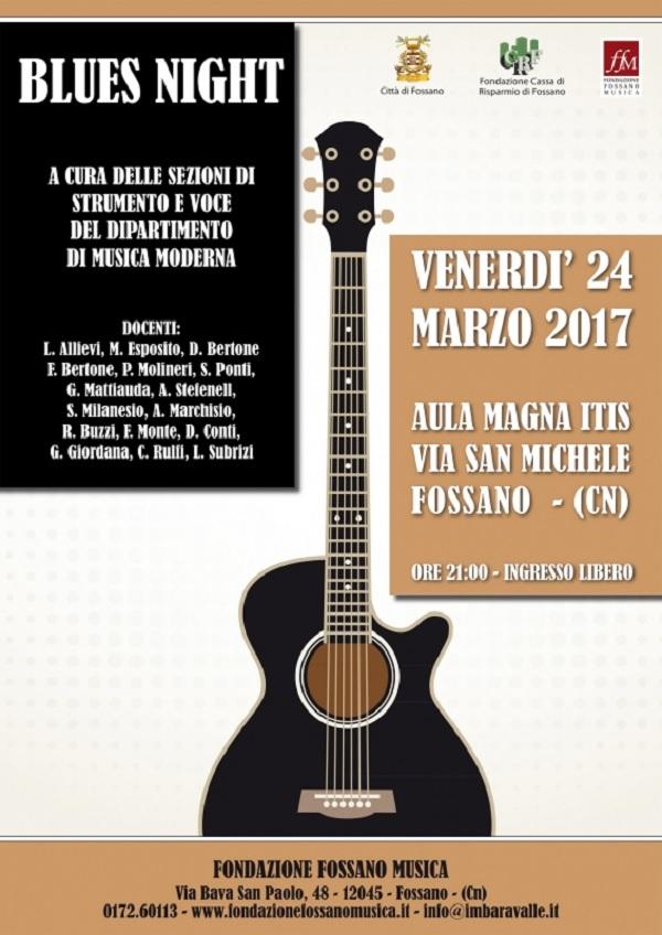 Blues Night a Fossano