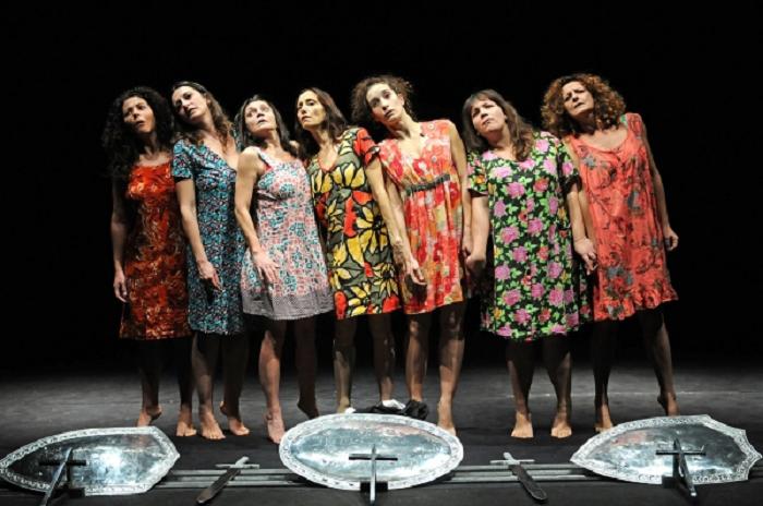 Le Sorelle Macaluso con Emma Dante al Teatro Politeama di Bra