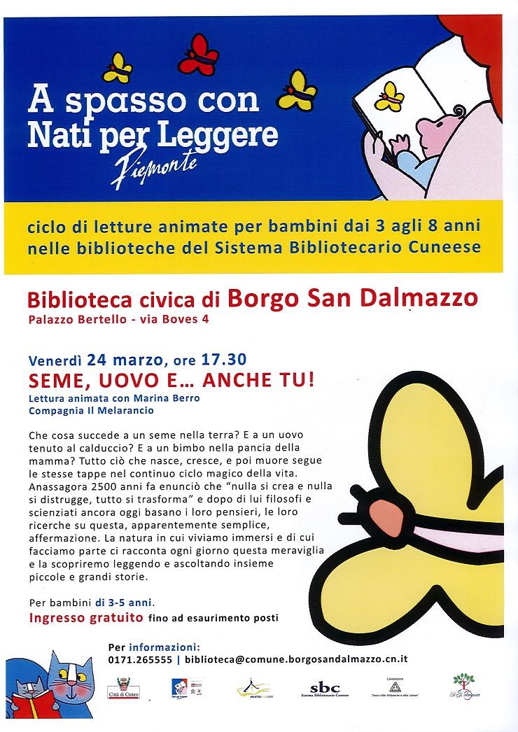 Seme, uovo e... anche tu! a Borgo San Dalmazzo