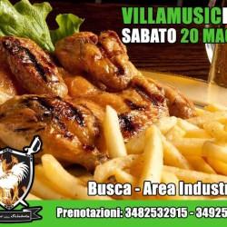 BUSCA - 20 MAGGIO A #VillamusicFest torna il Galletto alla...