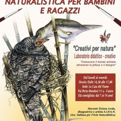 "CAMPUS DI PITTURA NATURALISTICA PER BAMBINI E RAGAZZI: ""CREATIVI PER..."