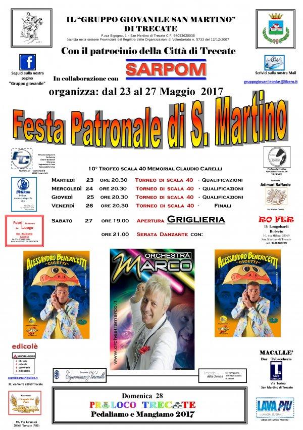 Festa di San Martino 2017 a Trecate