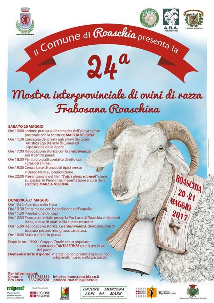 Mostra interprovinciale di ovini di razza frabosana-roaschina 2019 a Roaschia