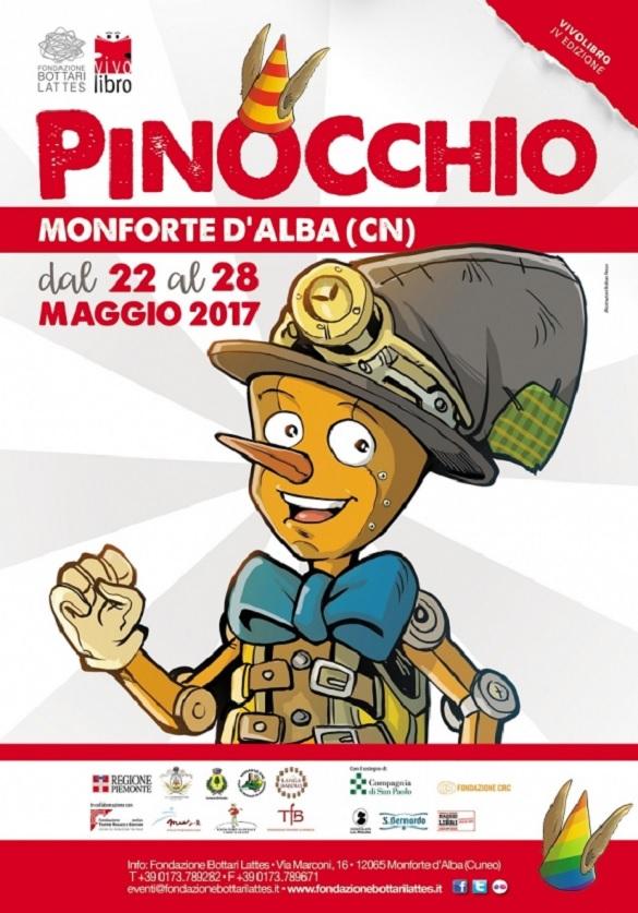 Vivolibro 2017 - Le avventure di Pinocchio a Monforte d'Alba