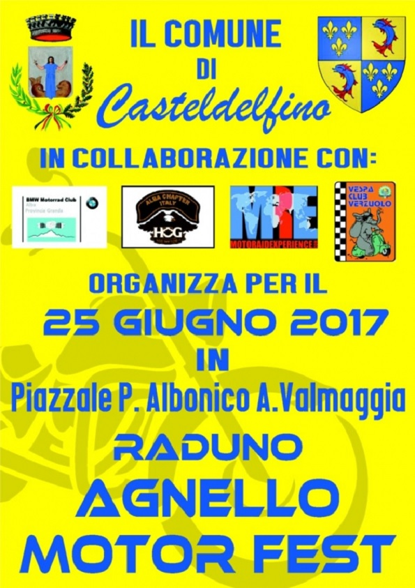 Agnello Motor Fest 2017 a Casteldelfino