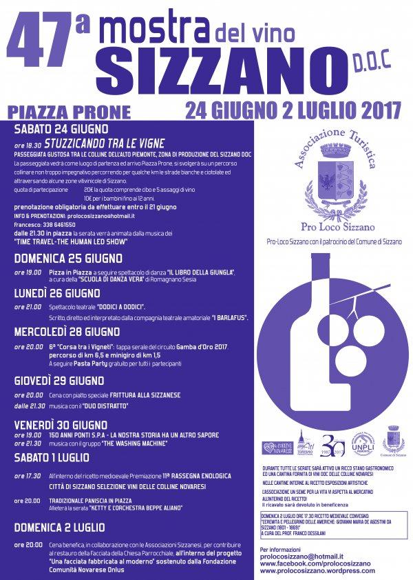 Mostra del vino Sizzano D.O.C. 2017 a Sizzano