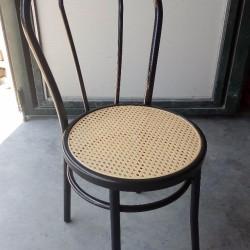 Sedia bistrot in metallo modello vienna/thonet