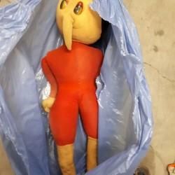 Vendo Pinocchio €40 - Moncalieri Vendo Pinocchio tessuto lenci