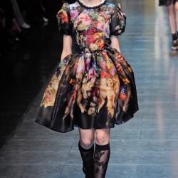 Vendo belissimo vestito 42-44 indossato una volta Dolce Gabanna €90...