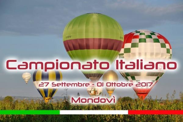 Campionato Italiano Mongolfiere 2017 a Mondovì