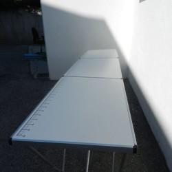 2 due tavoli per mercato, fiera, bancarella, da lavoro 3...