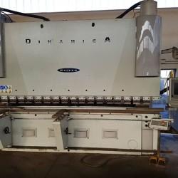 PRESSA PIEGATRICE WARCOM DINAMICA 4 metri 320 tonnellate seminuova €90,000...