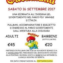 Gita a Gardaland €45 - Savigliano Divertentissima gita a Gardaland,...