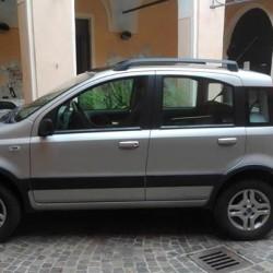 Vendo Fiat Panda 4x4 benzina, dic. 2004, grigio metallizzato, full...