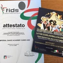 Imperial Dance anche quest'anno affiliata alla FIDS! Vieni ad imparare...
