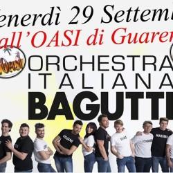 Venerdì grande evento all'OASI di Guarene con l'Orchestra BAGUTTI!