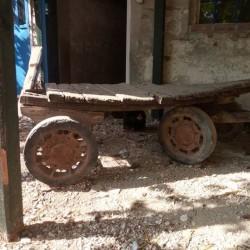 Vecchio carretto da restaurare €150 - Saluzzo Vendo per inutilizzo