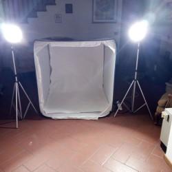 Cubelite accessori per fotografia per creare uno sfondo uniforme 3d...