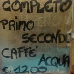"""Pranzo completo €12 - Bar """"Il Chiosco"""" Cremeria L osteria..."""