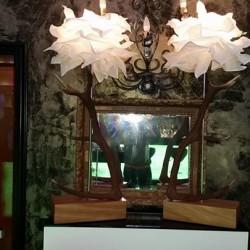 lampada abat jour palchi di cervo €600 - 12051 vedo...