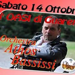 Questa sera ATHOS BASSISSI all'OASI di Guarene!