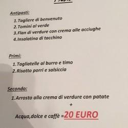 4.11.17 cena autunnale 🍁al bar-ristorante #DottaCaffè (strada provinciale 46 Regione...