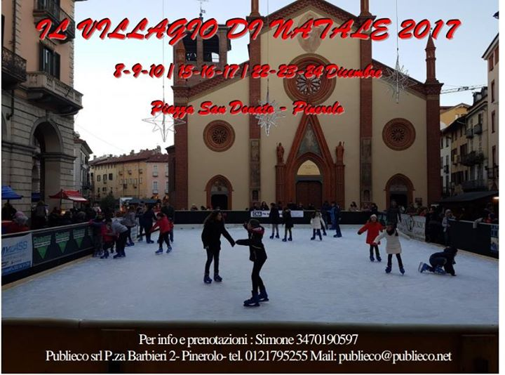 Villaggio Natale 2017 Pinerolo