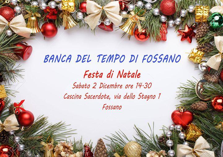 Festa di Natale della Banca del Tempo