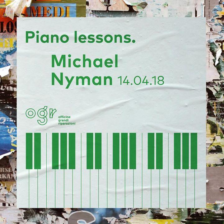 Michael Nyman. Piano Lessons