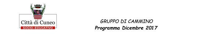 Gruppo di Cammino | Dicembre 2017