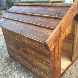 Cuccia cane legno massello €100 - 12030 Cuccia legno per...